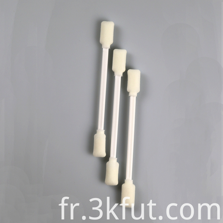 foam ear swab two sided