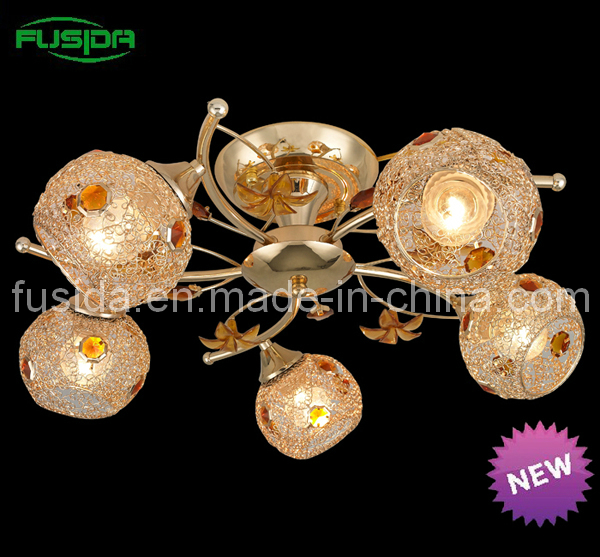 Modern Popular Indoor Pendant Light with Crystal