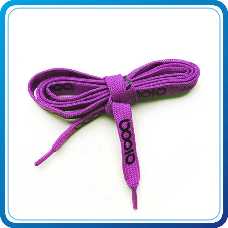 Zhongshan Haonan Flat Double - Layer Polyester Shoe Laces 1.2m