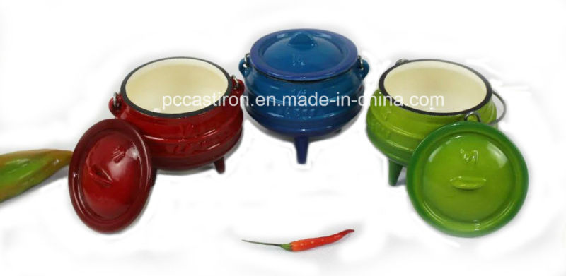 Enamel Cast Iron Cookware Set of Potjie Pot for South Affica Countires