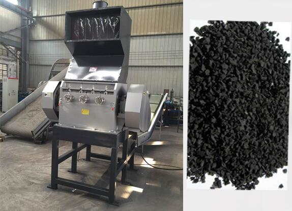 Scrap/Waste/Used Tyre Recycling Line for Sale Making Rubber Powder