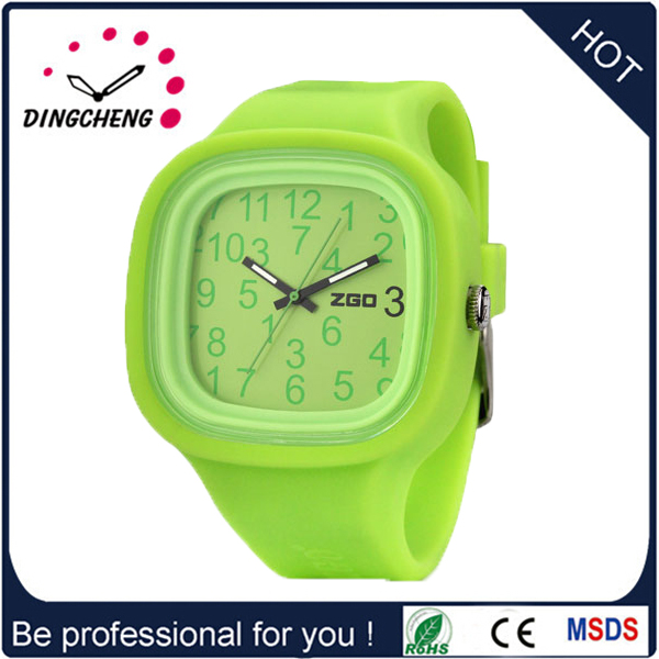 High Quality Cheap Price Japan Movt Silicone Watch (DC-1023)