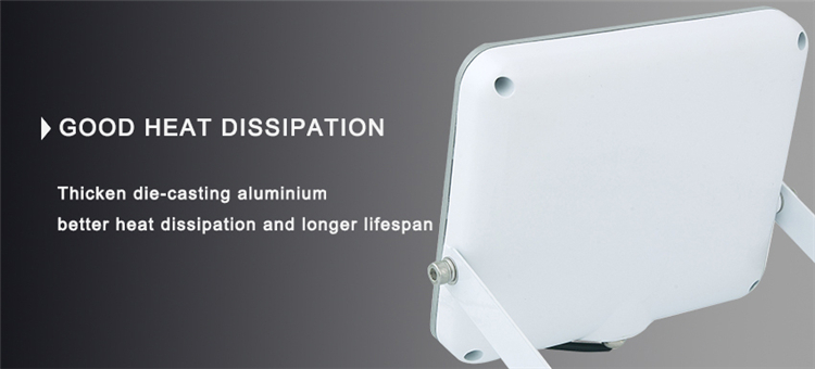Beam Angle 120° Aluminium 2-Year Warranty 30W White iPad LED Flood Lamp