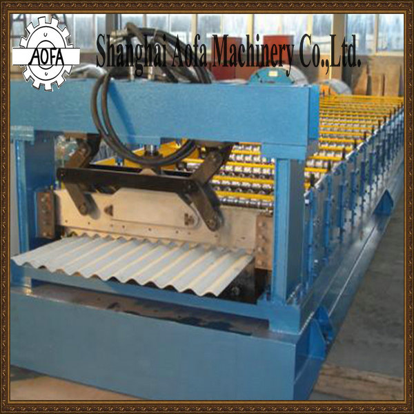 Corrugated Roofing Sheets Making Roll Forming Machine