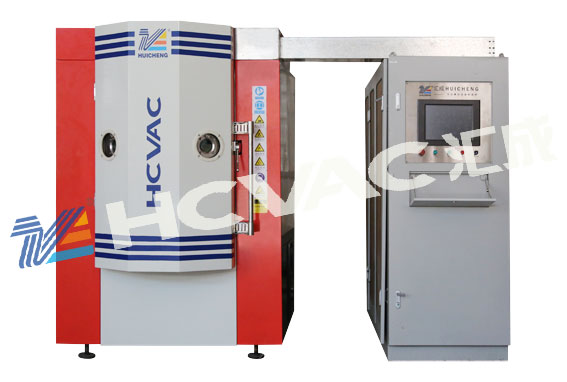 Hcvac Stainless Steel Gold Plasma Coating Machine, PVD Vacuum Plating Equipment