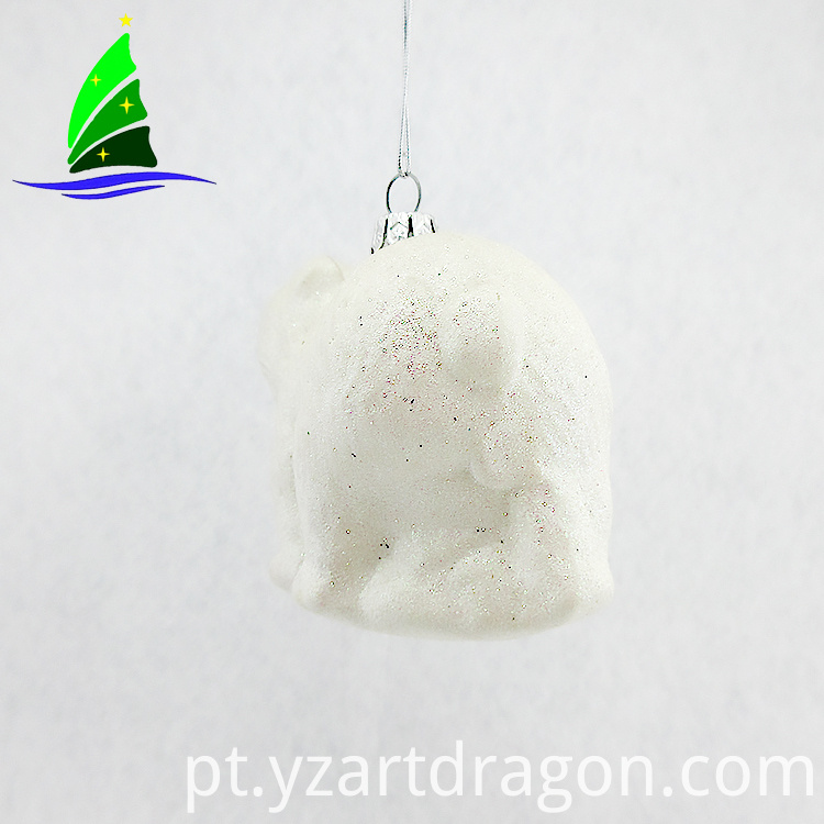 Large Glass Christmas Ornaments