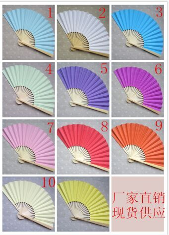 Wedding Silk Fan Wedding Favors for Guests Personalized