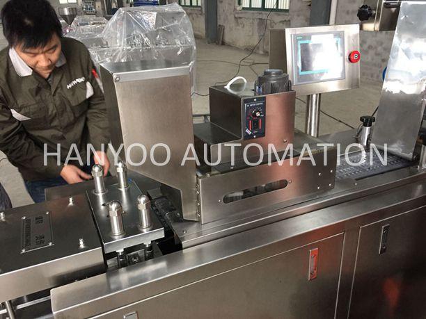 Dpp-150e Medical Usage Automatic Alu Alu/Alu PVC Blister Packaging Machine