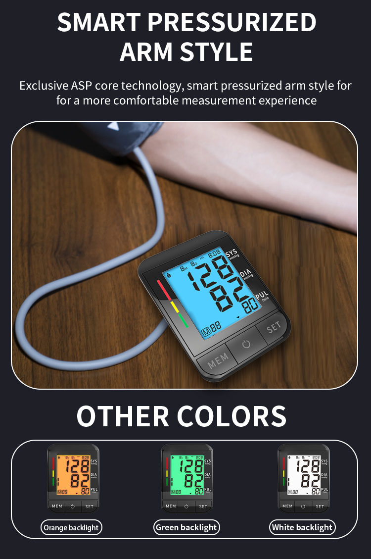 High quality Upper Arm Blood Pressure Monitors