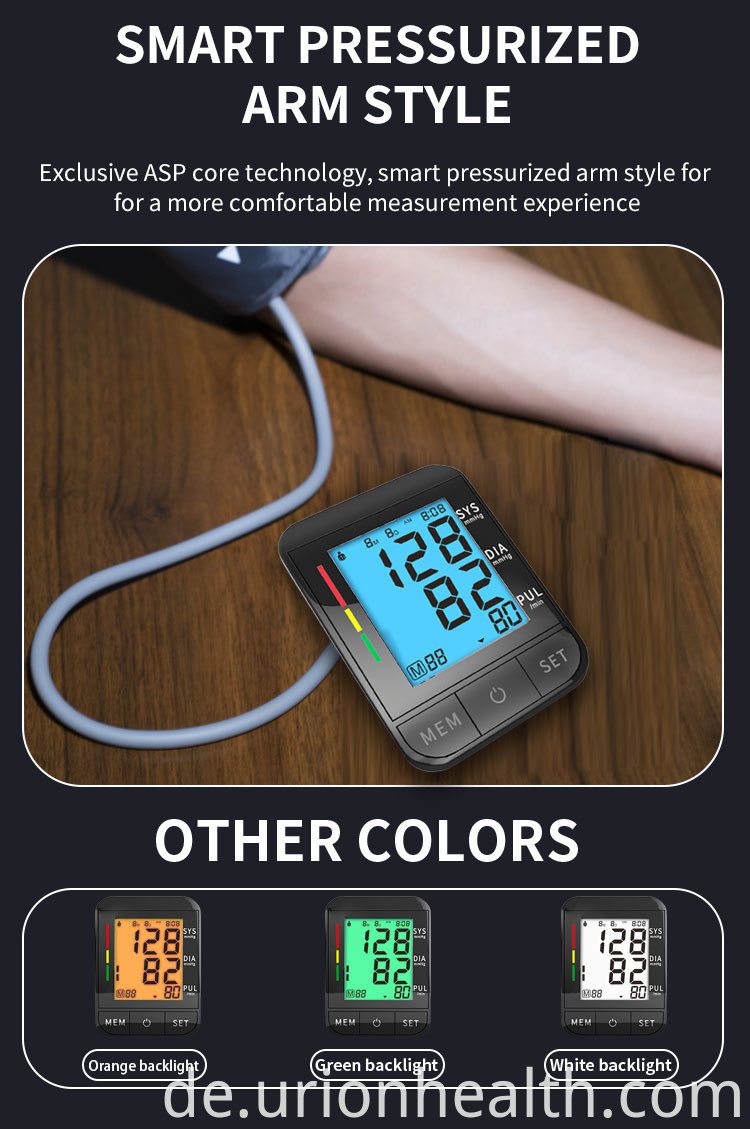 blood pressure monitor meter