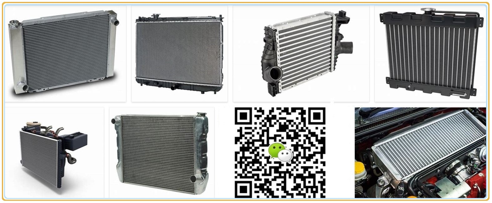 car engine radiator for gaz engine