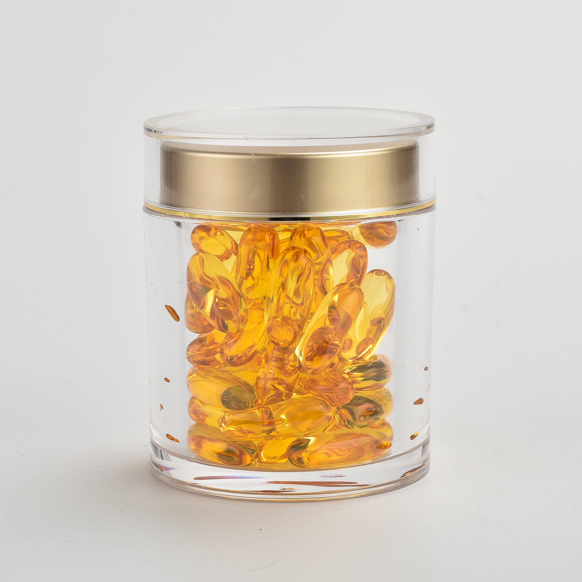 Cosmetic Jar Clear 100g Glass Cream Jar