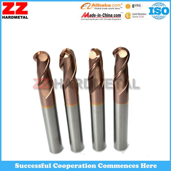 Ultra Fine Grain Size Solid Tungsten Carbide End Milling Cutters