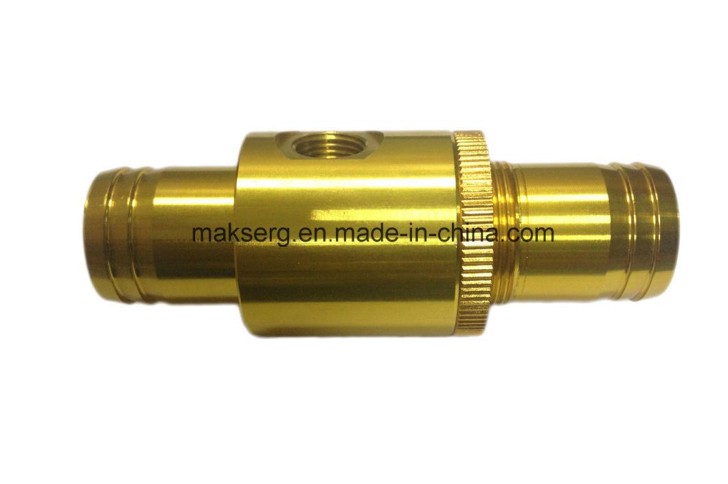 Прецизионная обработка оборудования с ЧПУ из анодированного алюминиевого сплава OEM ODM