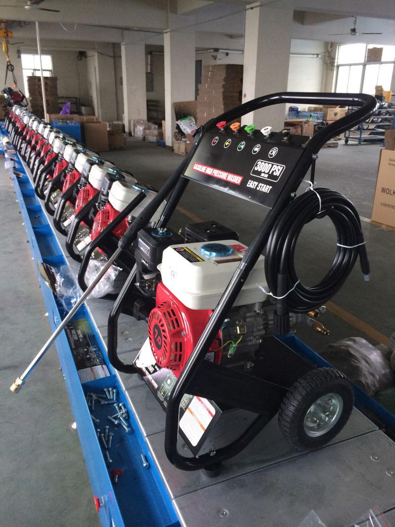 Zt250A Gasoline High Pressure Washer for Car Wash