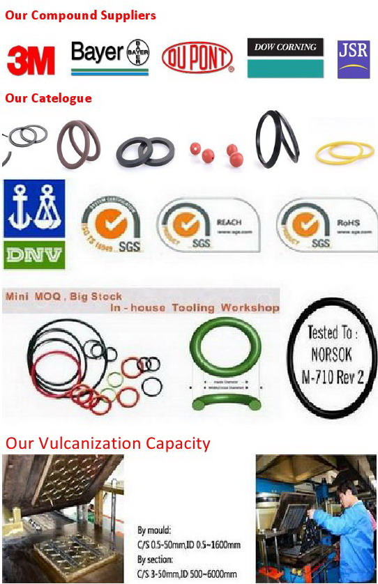 Silicone 70 Rubber X/Quad Ring for Rotary Motion