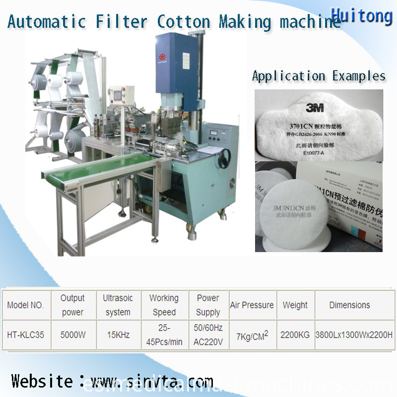 Automatic Medical Earloop Face Mask Making Machine