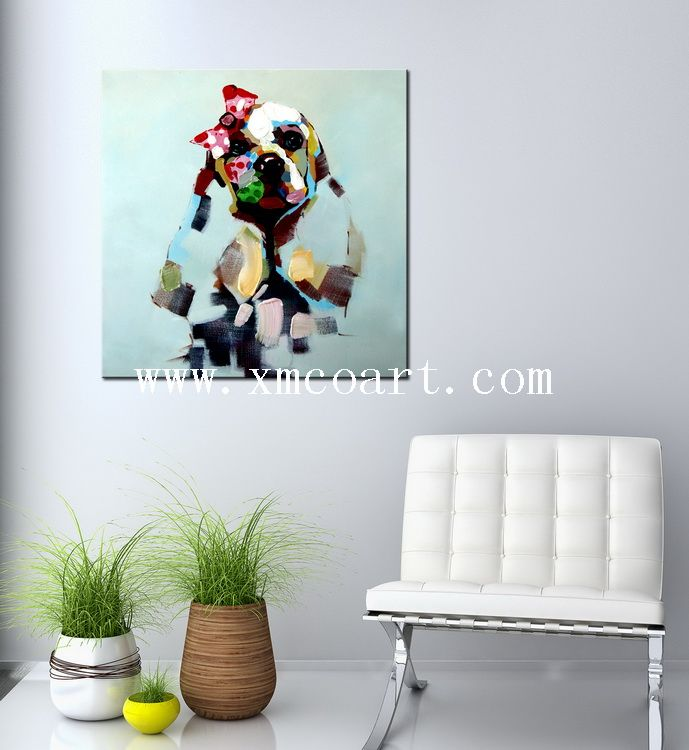 Hot Sale Wall Decor Canvas Art Abstract Painting (new-315)