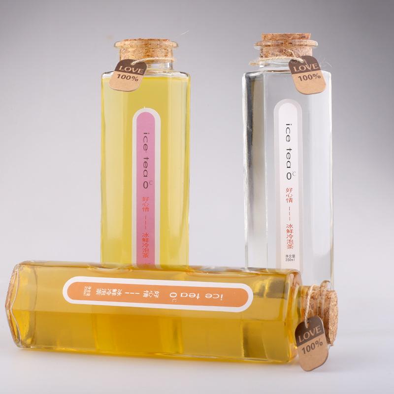 250ml 500ml 1L Glass Bottle for Beverage/Fruit Juice/ Milk /Water