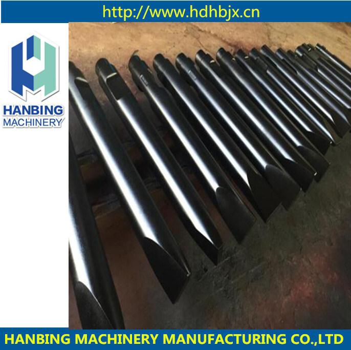 Hydraulischer Steinbrecher Hammer Meißel / Konisch / Pyramide / Stumpfe Werkzeuge