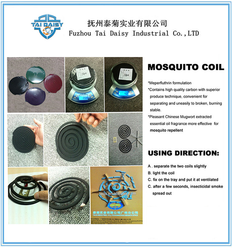 12 Hours Perfumed Black Autom Mosquito Repellent Coils/ Good Fly Coils