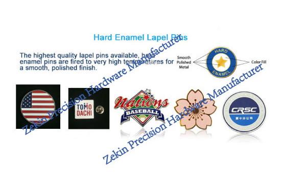 Fashion Customized Metal Badge with Free Design