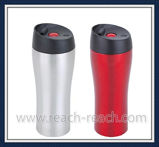 100% Leak Proof Stainless Steel Vacuum Travel Mug (R-2328)