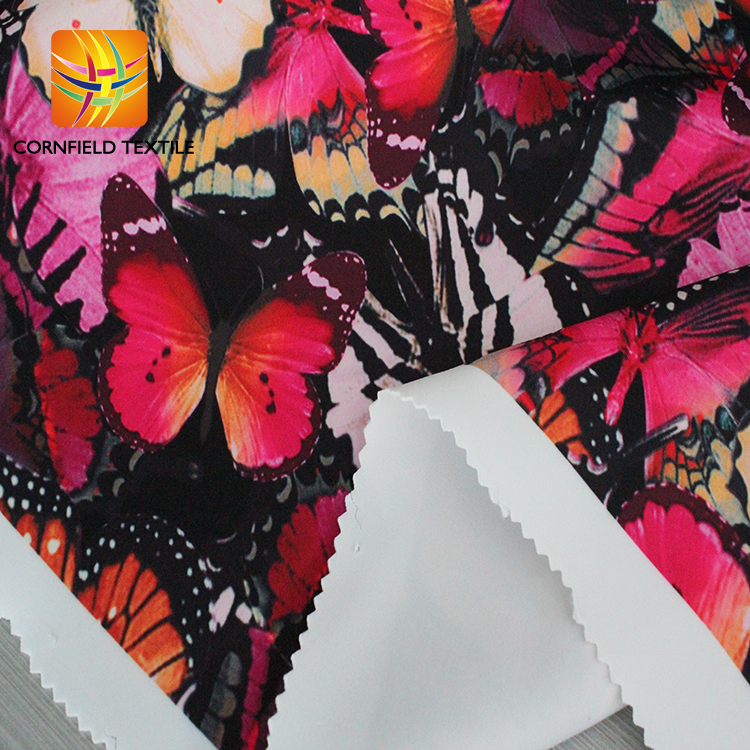 Digital Print Knit Fabric