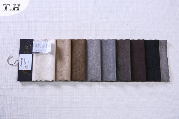High Quality Suede with Hot Stamping for Luxury Sofa