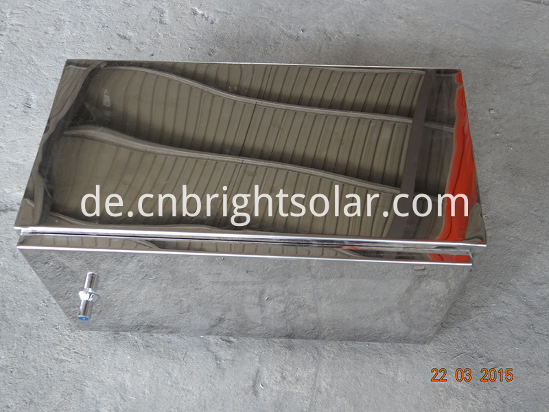 Stainless Solar Battery Box