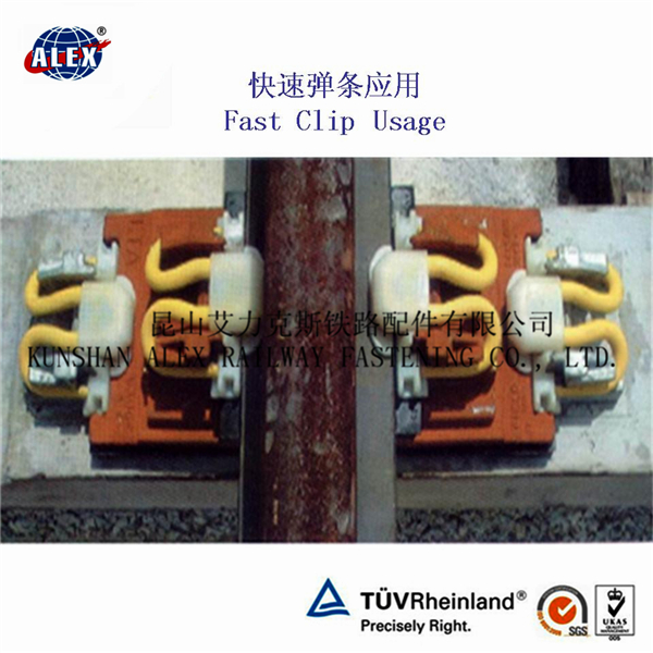High Tension Rail Fixing Clips for Railway