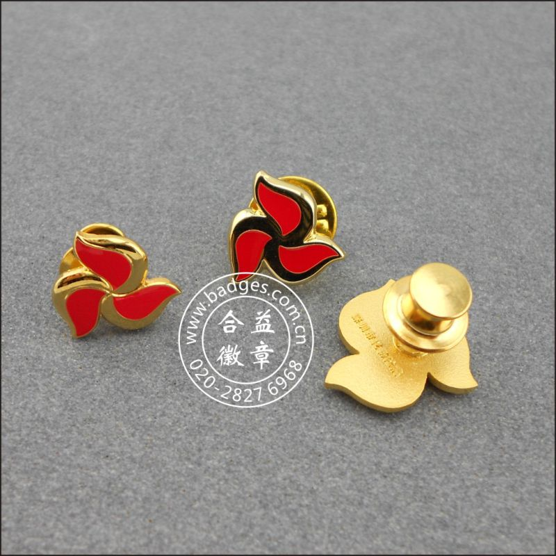 Enamel Lapel Pin, Heart Shape Badge (GZHY-LP-011)