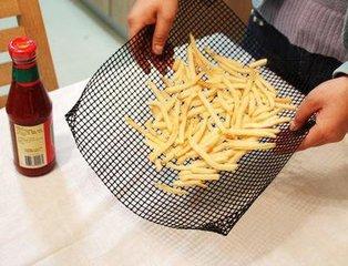 PTFE Bakery Fiberglass Quickachips / Chip Basket