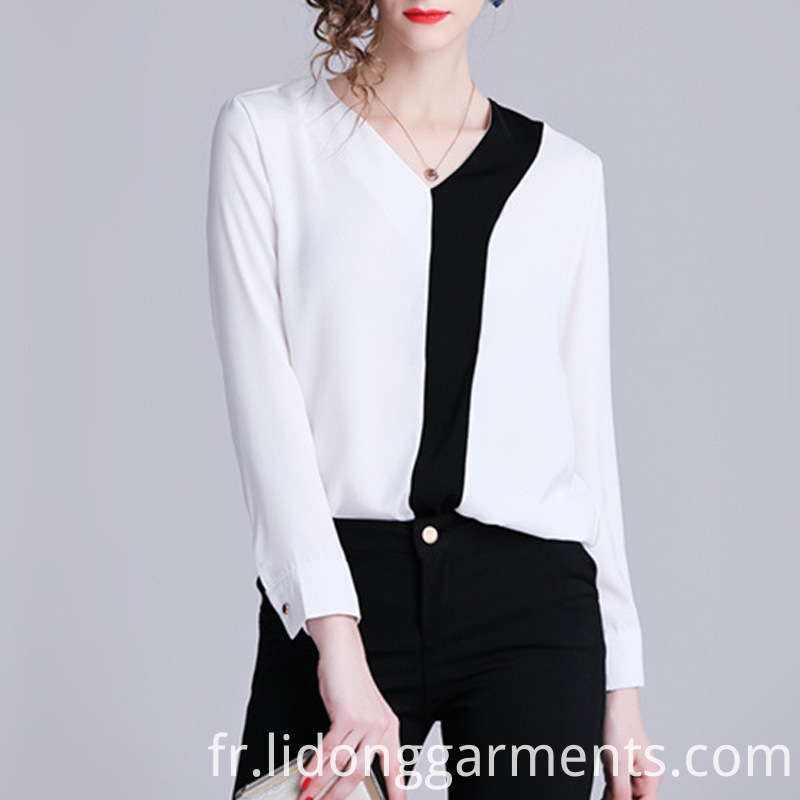 Office Long Sleeve Blouse