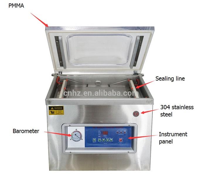 Automatic Plastic Bag Vacuum Machine with Single Chamber