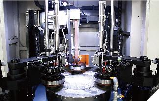 Mgp-180d Full Automatic Three Shaft Saw Blade Polishing Machine (Robot Arm)