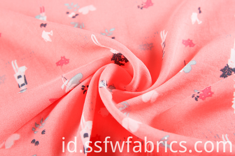 Cute Lovely Fabric Printing Direct