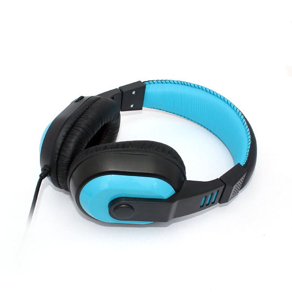 Stereo Headphones with Volume Control in Earcup (HQ-H518)