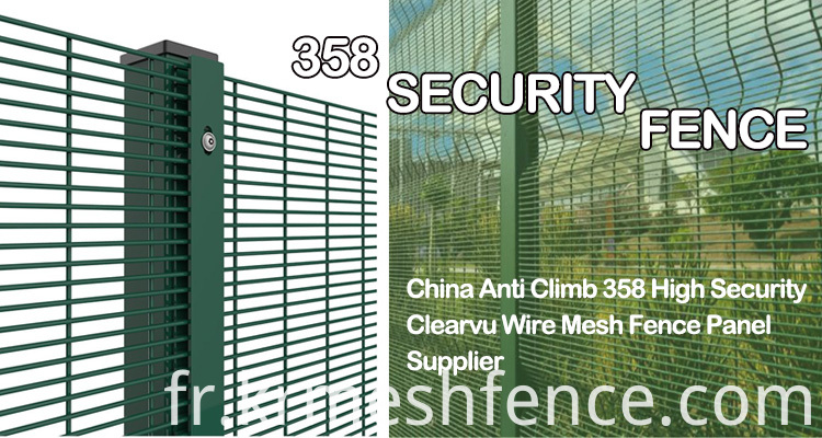 Factory anti climb 358 security fence