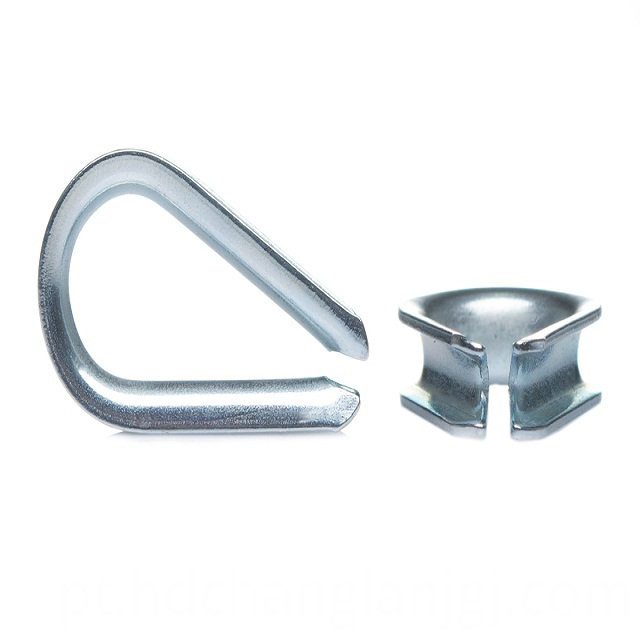 Steel rope thimble