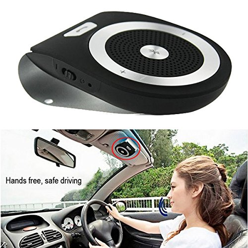 Bluetooth in-Car Speakerphone Great Sound Jabra Quality Handsfree Car Kit with DSP HD Sound Superbass