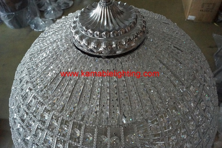 Hotel Project Crystal Ball Chandeliers (UR183)
