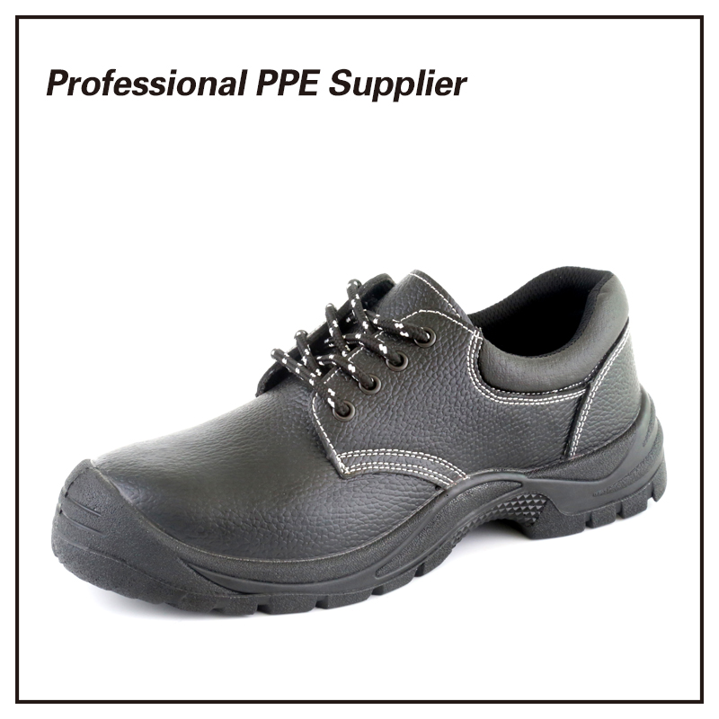 Bafflo Leather Low Cut S1p Cheap Safety Shoes