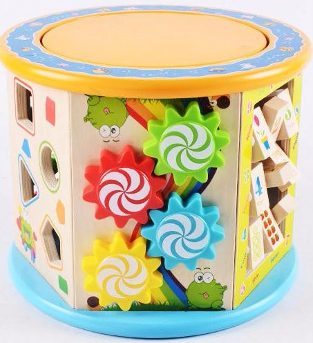 8 in 1 Bead Maze Toddler Gift Toy
