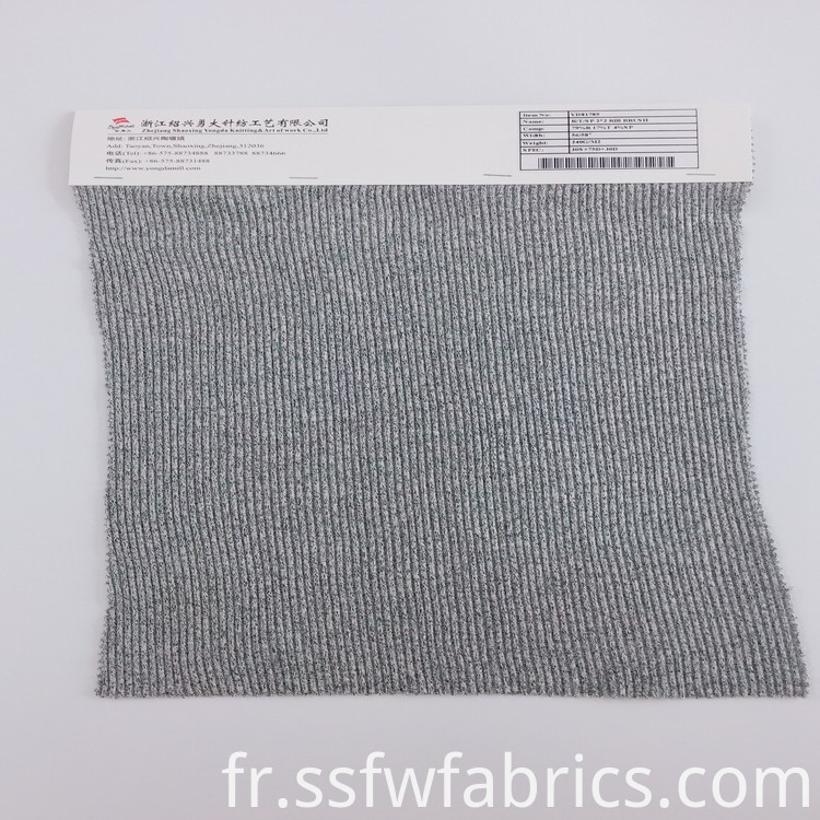 New Fashion Stripe Rib Fabric