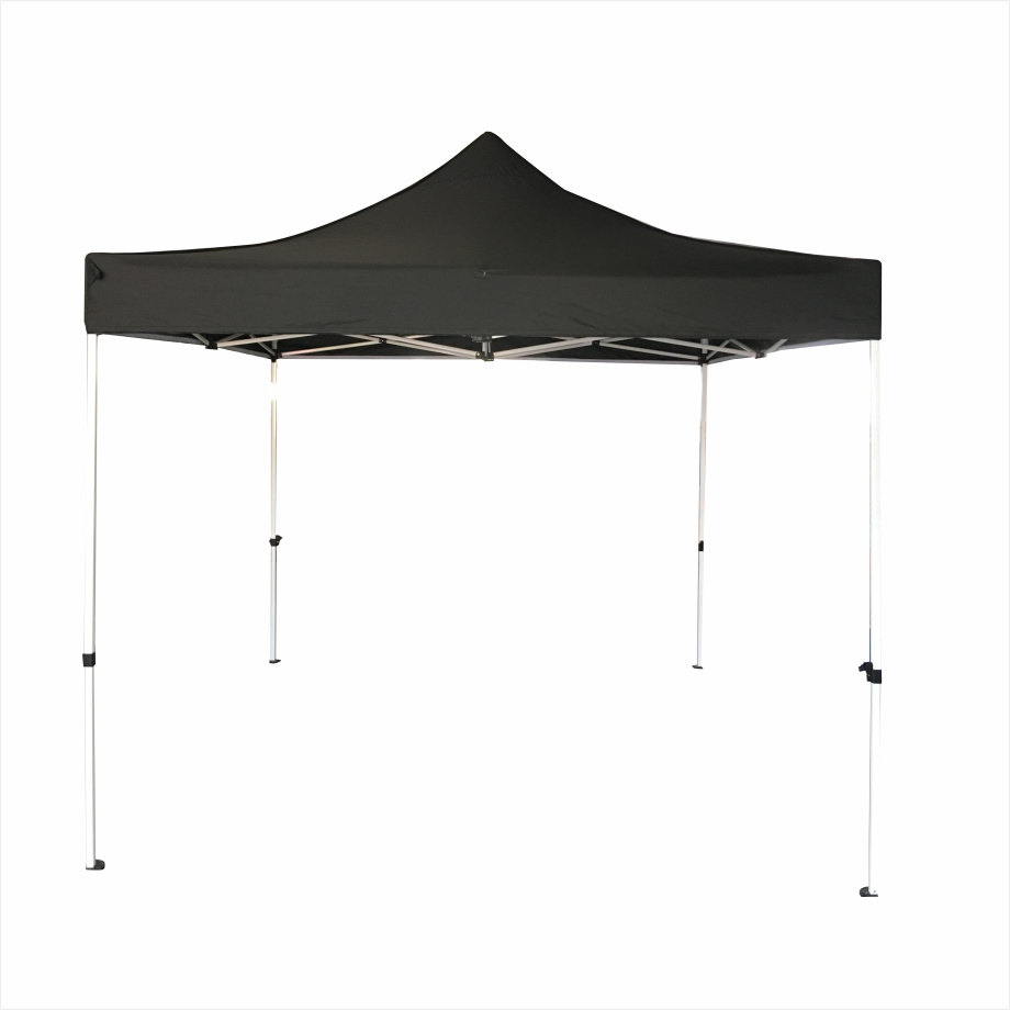 blcak outdoor tent