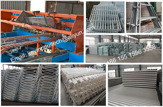 24 Stall 3 Tier a-Frame Commercial Poultry Egg Layer Cage Chicken Battery Coop