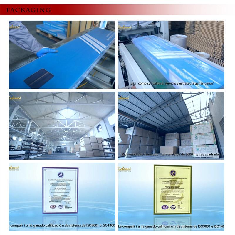 Parquet 12.3 Maple HDF Laminated Sound Absorbing Laminate Flooring