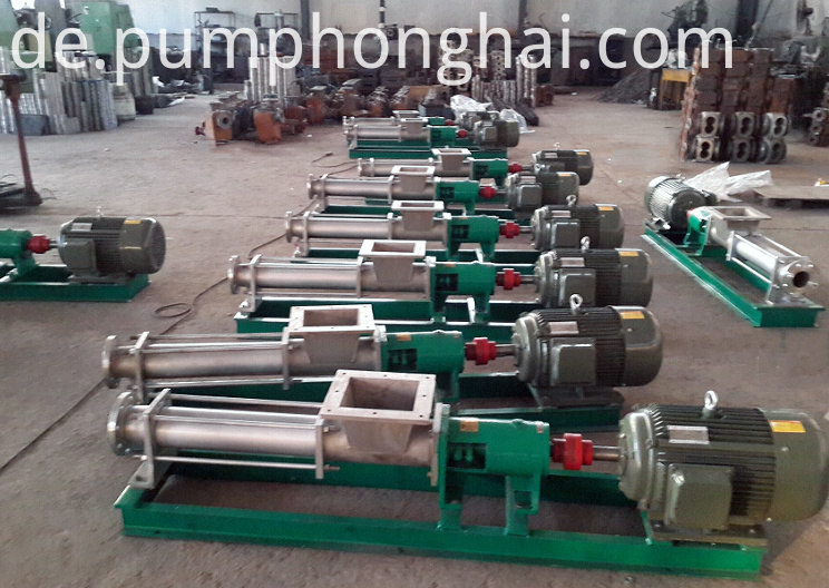 Mini Mono Single Screw Pump