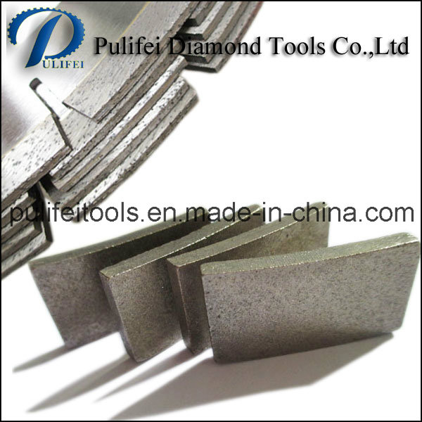 Diamond Gang Saw Small Size Blade Abrasive Cutting Granite Segment